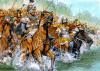 Batalla de Gránico: Alejandro cruza el rio al frente de los Compañeros