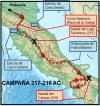 Campaña de Aníbal en el 217 y 216