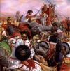 Batalla de Ilipa: Carga de los elefantes
