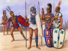 Infanteria pesada: brucios, apulios y lucanos