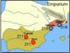 Batallas entre los Escipiones y cartagineses