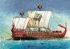 Trirreme cartaginesa, fue la nave más empleada por la armada cartaginesa