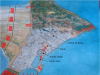 Ataque a Cartago por Escipión Emiliano. Se observa el ataque a Megara, el rodeo de la ciudad con empalizada y foso y el asalto a la ciudad