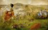 Batalla de Baecula 208 AC. Primeras escaramuzas. Autor Albert Alvarez Marsal