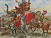 Batalla de Bagradas 239 AC. Autor Giuseppe Rava