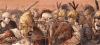 Batalla de Cannas o Cannae 216 AC (2). Lucha en el centro entre unidades hispanas contra legionarios. Autor Jenny Dolfen