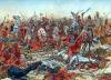 Batalla de Cannas o Cannae 216 AC (4). La caballería púnica regresa ataca por retaguardia al centro romano. Autor Igor Dzis