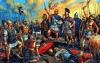 Batalla de Cannas o Cannae 216 AC. Aníbal celebrando la Victoria. Autor Aleksandr Yezhov