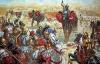 Batalla de Zama 202 AC (1): Los elefantes cartaginesas se vuelven contra la propia caballería cartaginesa. Autor Giuseppe Rava