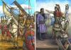 Conquista romana de Cartagena (Cartago Nova) 209 AC, a la izquierda llegada de escipión, a la derecha Magón el comandante cartaginés de la plaza. Autor Ángel García Pinto