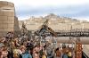 Rebelión de los mercenarios. Mercenarios asediando la ciudad de Cartago. Autor Angel Todaro