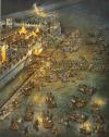 Ataque nocturno de los caledonios contra el Muro de Adriano en el 181 durante el reinado de Cómodo . Autor D & Spedaliere