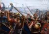 Campaña de Druso el Mayor contra los bructerios 12 AC. Druso derrota a una flota de bructerios. Revista Ancient Warfare.