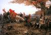 Germánico frente a los restos de las legiones de Varo