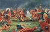 Legión VI Victrix contra los britanos. La legión VI sustituyó a la IX Hispana en el año119, Participó en la construcción del Muro de Antonino. Autor Peter Dennis