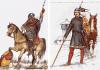 Jinetes carolingios siglo VIII y X