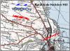 Batalla de Halidon Hill 1.333. Despliegue de fuerzas