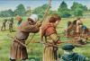 Instrucción de arqueros ingleses. Autor Peter Dannis para Osprey