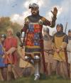 Juan de Gante duque de Lancaster en Nájera. Autor Jason Juta