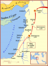 Tercera batalla de Homs avance mongol