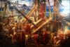 Arquimedes dirigiendo las defensas de Siracusa. Autor Thomas Ralph Spence
