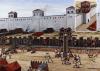 Asedio romano a las murallas de Siracusa 213/2. Autor Seán Ó'Brógáin