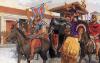 Entrada triunfal de Aníbal en Capua. Autor Peter Connolly