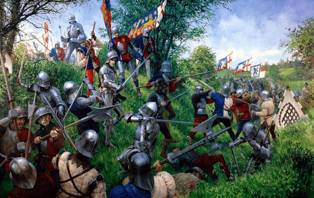 Batalla de Tewkesbury 147 - Arre caballo!