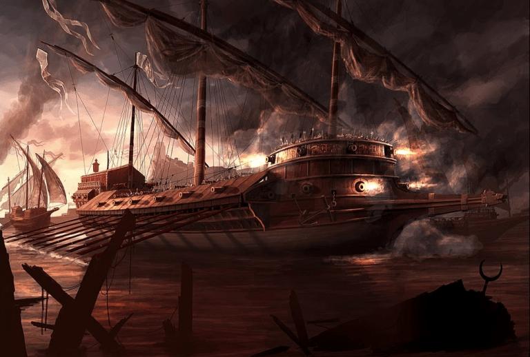 Registro de embarcaciones Batalla-de-lepanto-1571--dos-galeaza-venecianas-encabezando-el-ataque-768x518