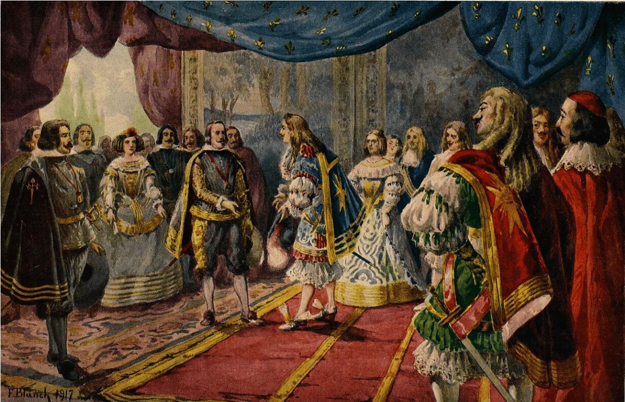 Image result for Tratado de Paz de los Pirineos