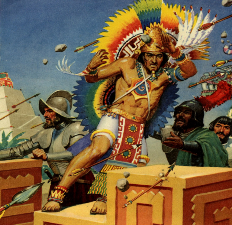 Muerte De Moctezuma 29 De Junio De 1520 Arre Caballo